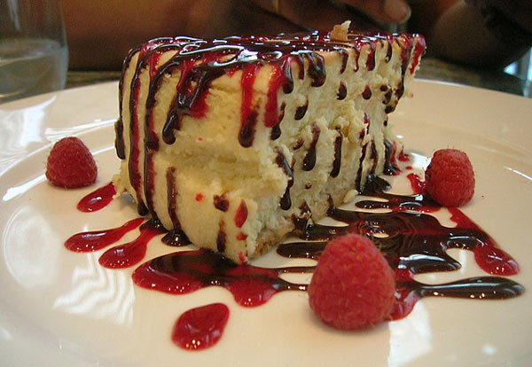 Cheesecake is an American dessert made of cheese
