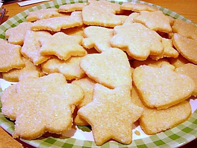 Как приготовить сладкое фигурное печенье?