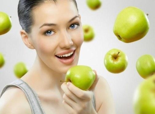 Яблочные маски для лица