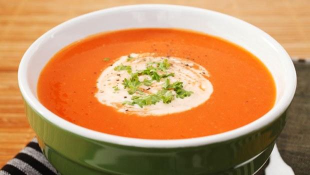 Как приготовить летний томатный суп