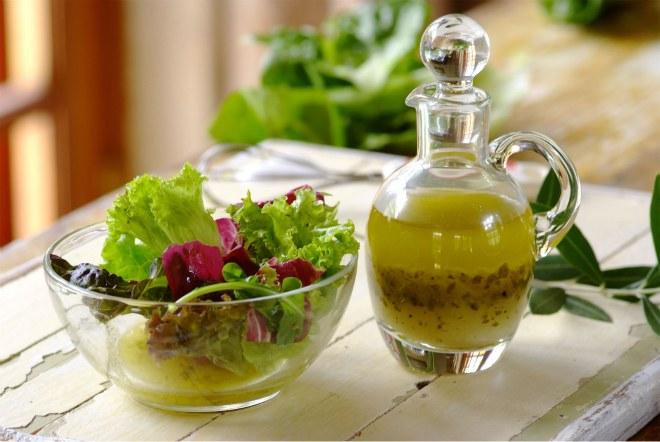 Вкусные заправки для салатов