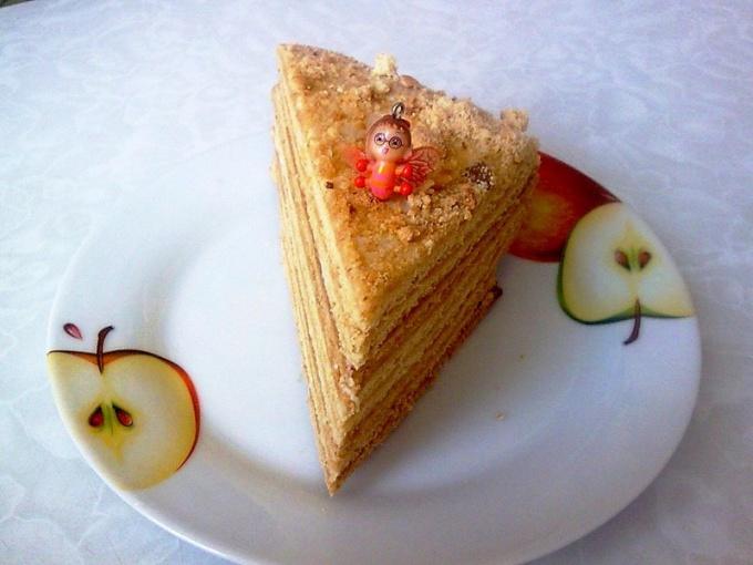 Кусочек готового торта