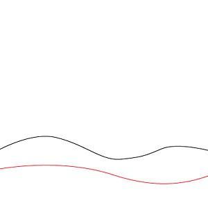 Как нарисовать простой новогодний пейзаж