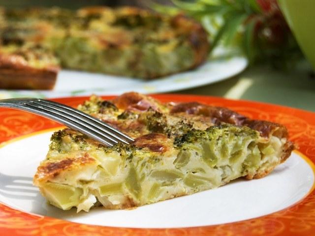Lazy cabbage pie