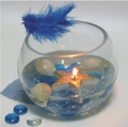 Аквариум и свеча 2