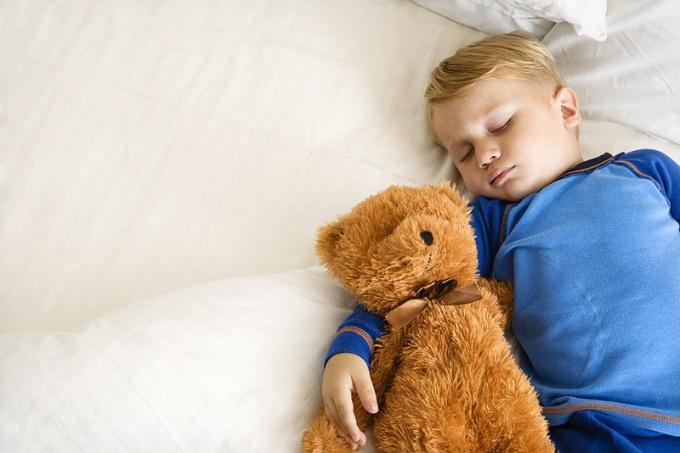 How to put to sleep his Teddy bear