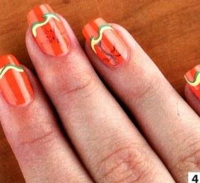 Как сделать красивый маникюр с пальмами