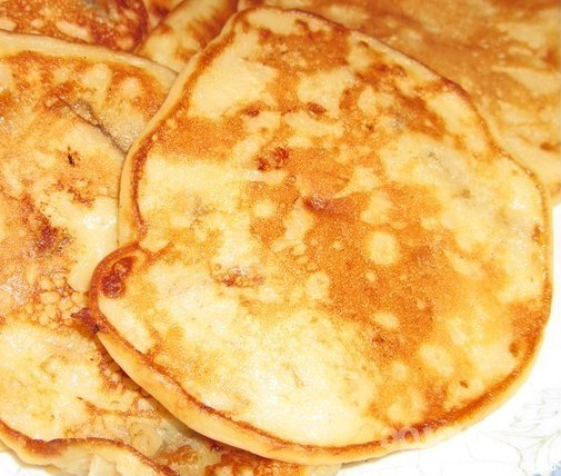 How to cook banana pancakes