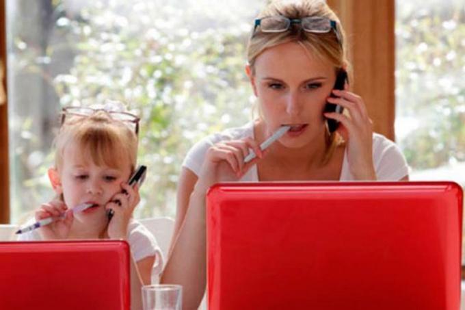 Работа в декрете на дому: правда или вымысел