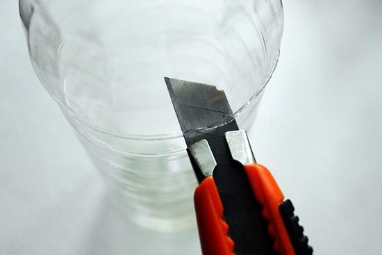 Как сделать подсвечник из льда