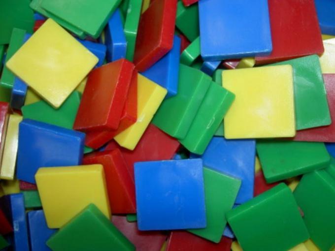 Развивающие игры: геометрическая мозаика