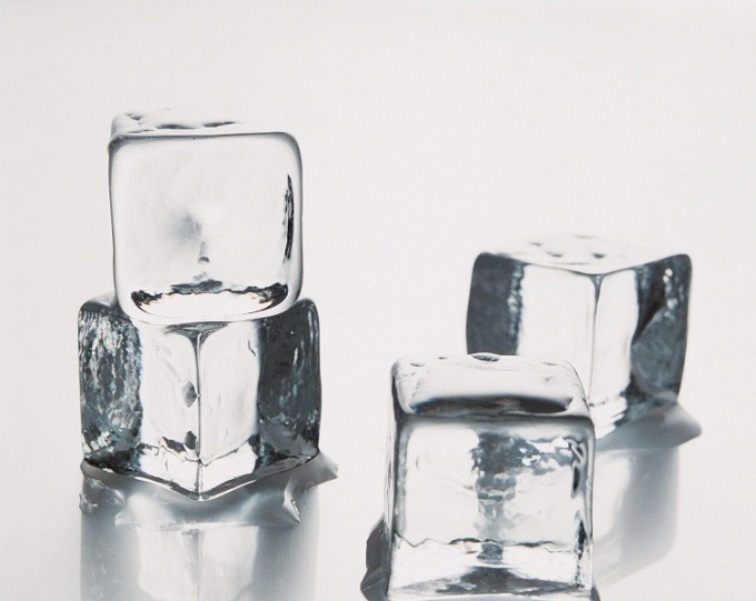 Ice Cubes for the face: the best recipes