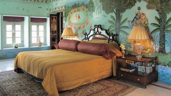 Спальня в индийском стиле: спальня, заряжающая положительной энергией