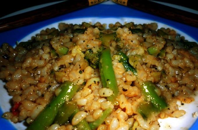 Готовим вкусный и питательный рис с овощами