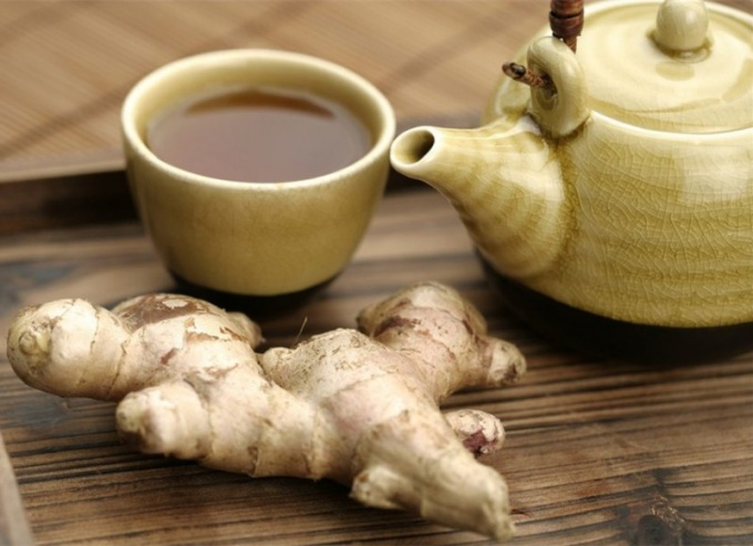 как сделать имбирный чай