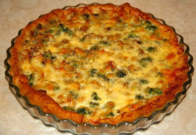 Как приготовить пирог с курицей и грибами
