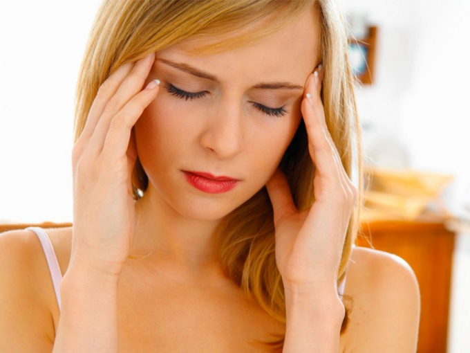How to eliminate pain and heaviness in the head