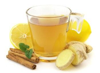 Диета для плоского живота - пейте имбирный чай