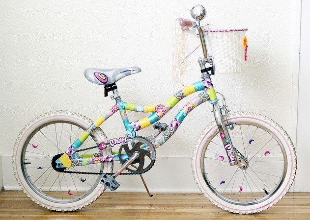 How to beautifully decorate your bike