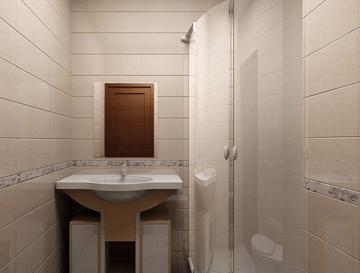 Облицовка стен ванной пластиковыми панелями