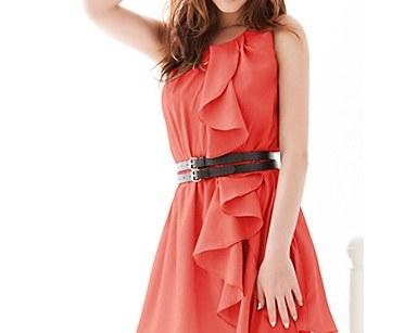 С чем носить длинное платье