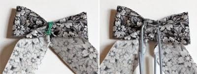 Как сделать закладки-бантики