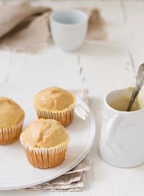 Как сделать кексы с глазурью для пончиков