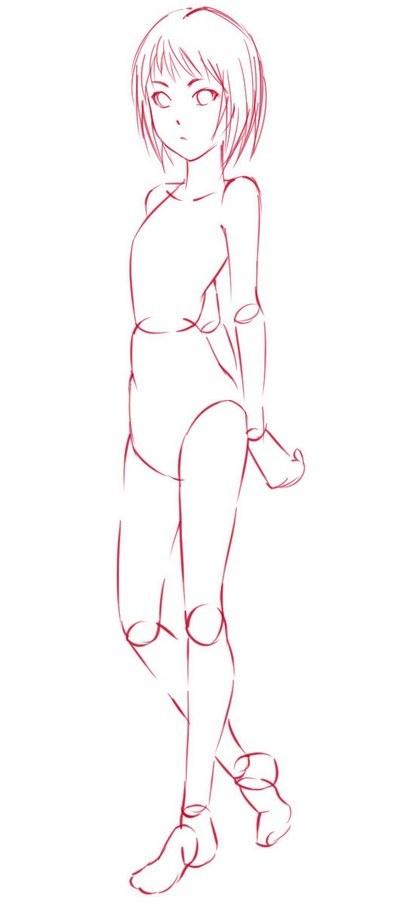 Как нарисовать девушку-кошку