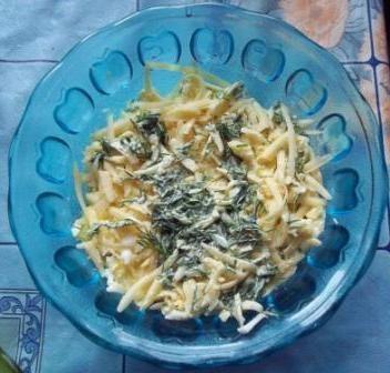Многослойный салат из тунца