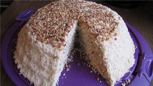 Рецепт торта пирамида фото