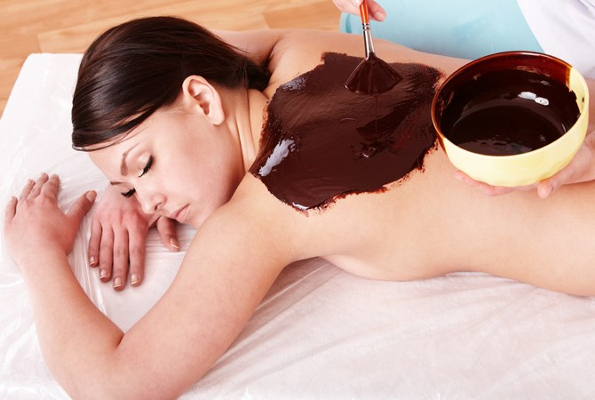 How to care for the body with chocolate
