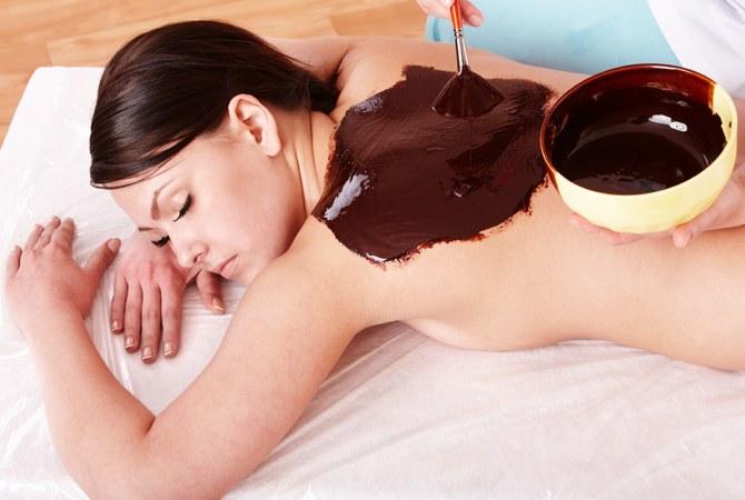 Как ухаживать за телом с помощью шоколада