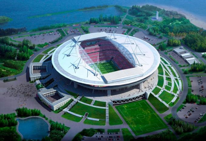 На стадионе Фишт пройдёт Олимпиада Сочи-2014