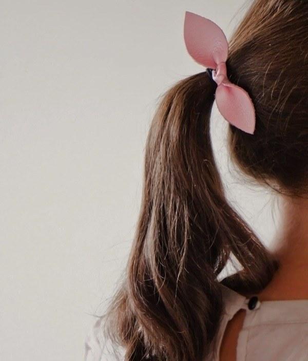 Как сделать резинку - бант на голову