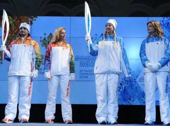 Кто примет участие в эстафете Олимпийского огня Сочи-2014
