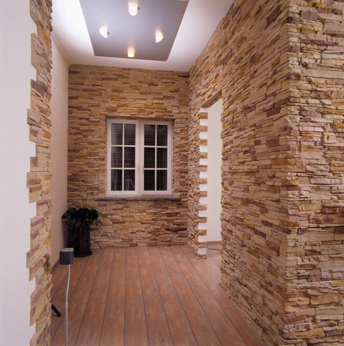 Walls decorative stone