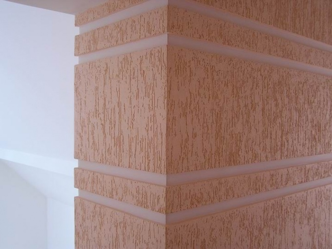 Decorative plaster for walls