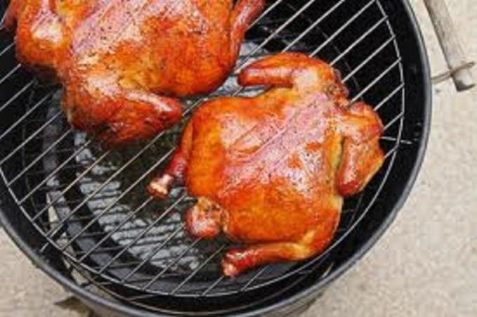 Как приготовить копченую курицу в аэрогриле