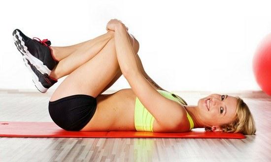 6 простых упражнений для подтягивания живота и ягодиц