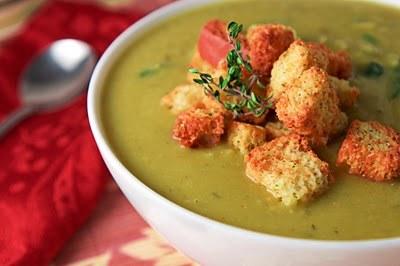 Как приготовить суп-пюре из фасоли