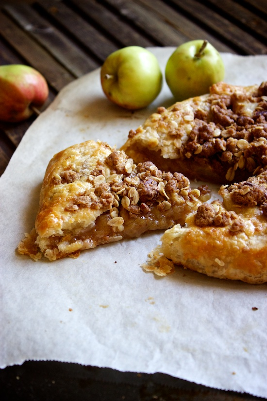 Как сделать деревенский яблочный пирог
