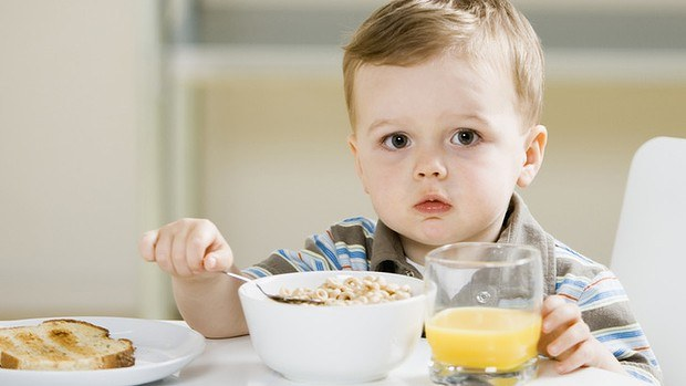 How to feed a baby 2 years for Breakfast