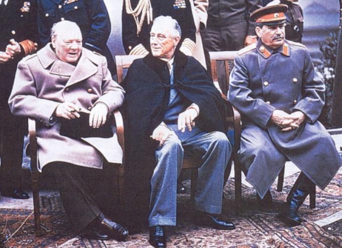 Какие страны входили в антигитлеровскую коалицию