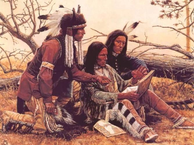 Какие прически носили древние индейцы