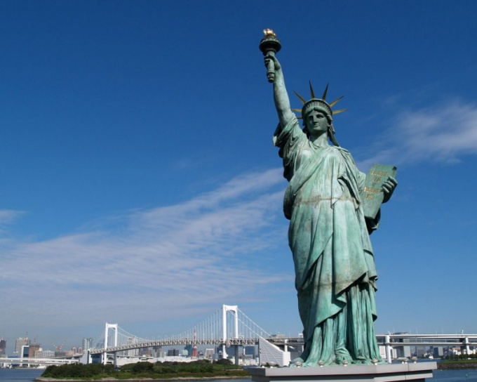Какой высоты статуя Свободы
