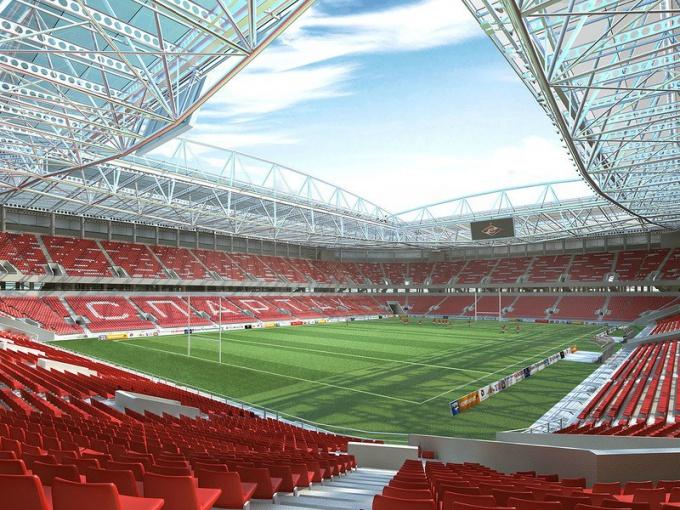 Cтадион «Спартак»  — одна из арен, где в 2018 году будет проходить чемпионат мира по футболу