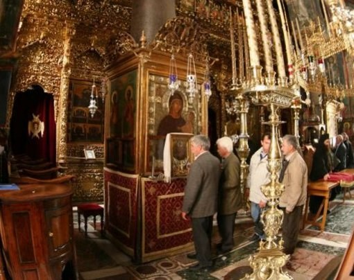 Where in Moscow is the icon vsetsaritsa