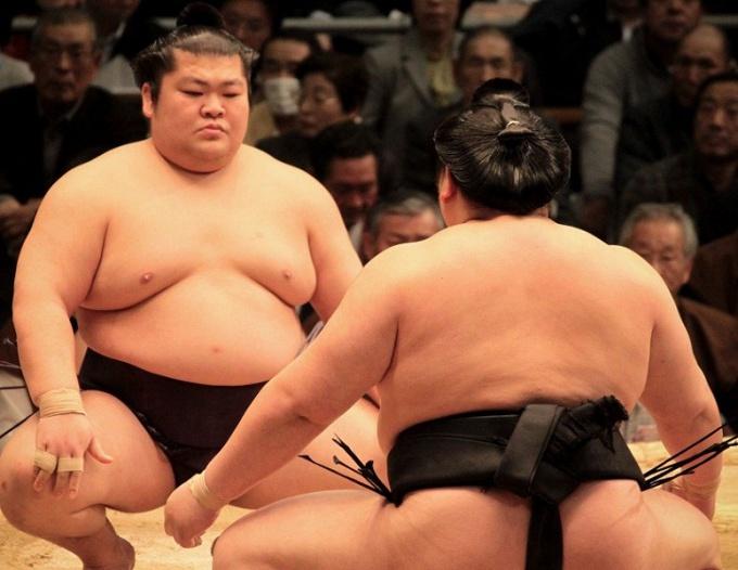Маваси Сумотори: большим мальчикам - большие стринги