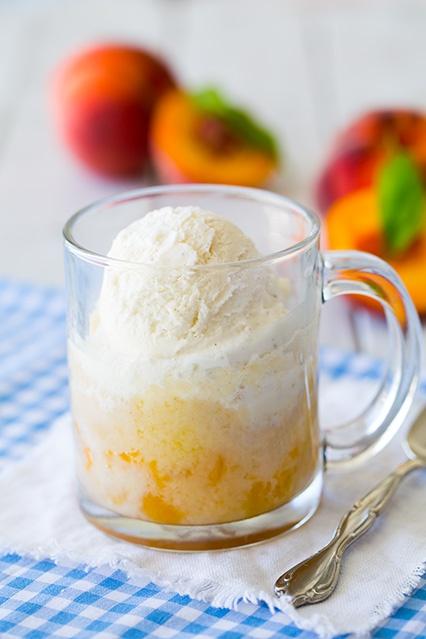 Как сделать персиковый десерт