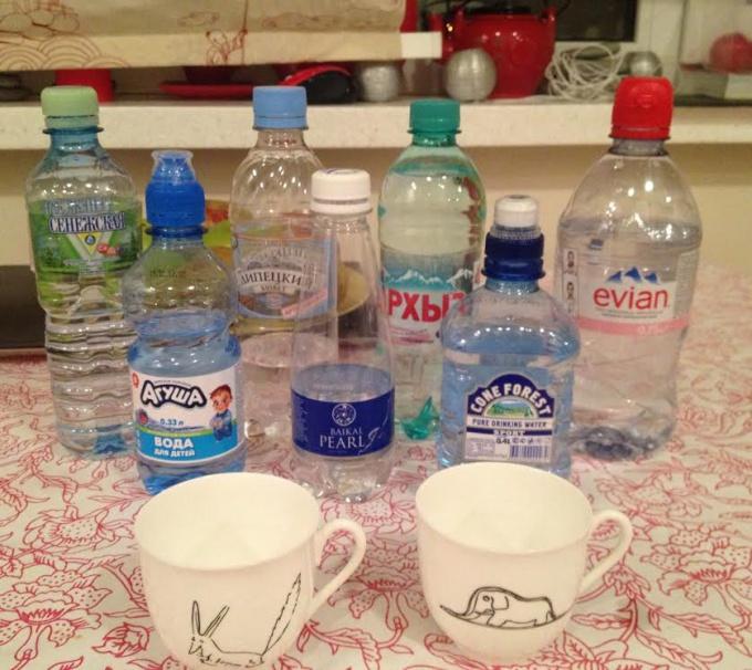 Дегустация воды дома